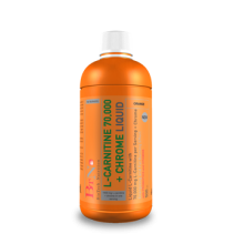 L-Carnitine 70.000 mg + Chrome (500 ml.)