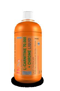 L-Carnitine 70.000 mg + Chrome (500 ml.)