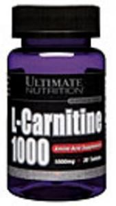 L-Carnitine 1000mg ( 30 tabs. )