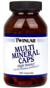 Multi Mineral Caps 180 капсул