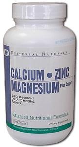 Calcium/ Zinc/ Magnesium (100 tab.)