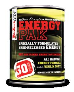 Energy Pak (30 packs.)