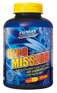 FM Crea Mission, 120caps /1200mg (Creatine Orotate Ethyl Ester )