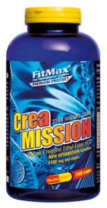 FM Crea Mission, 240caps /1200mg (Creatine Orotate Ethyl Ester )