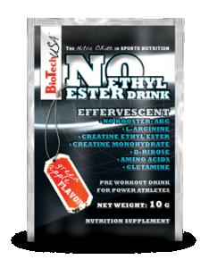 NO - Ethyl ester Drink Pre Workout (30 packs.)